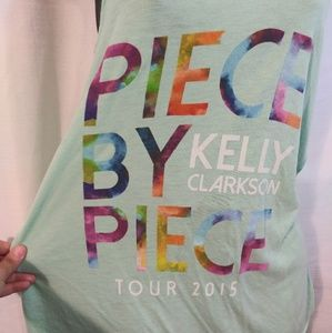 Bella Canvas Tops - Kelly Clarkson Tour 2015 Racerback Tank